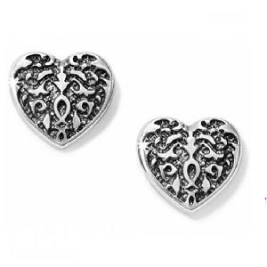 Heart Cordoba Mini Post Earring J21830