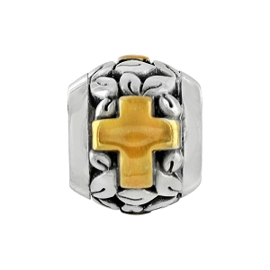 Poetic Cross Bead J95361