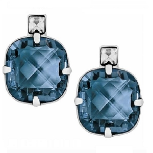 Your True Color Lovable Post Earring  Zircon Blue JA0196