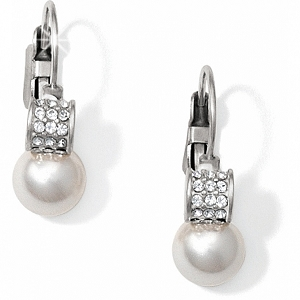 Meridian Petite Pearl Leverback Earrings JA1302