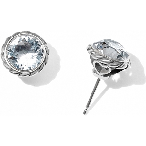 Iris Stud Earrings Crystal JA173C
