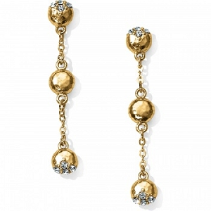 Bilbao Mist Post Drop Earrings Gold JA3804