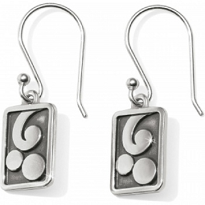 Contempo Ice Reversible Tile French Wire Earrings JA4311