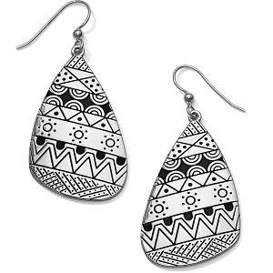 Africa Stories Etched French Wire Earrings JA4550