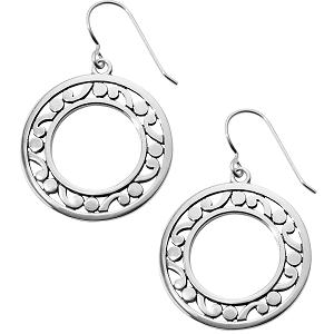 Contempo Open Ring French Wire Earrings JA5380