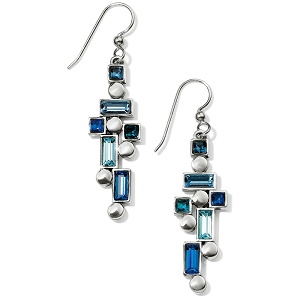 Blue Showers French Wire Earrings JA5673