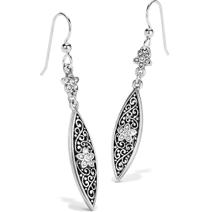 Baroness Fiori Marquise French Wire Earrings JA6631