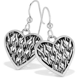 Delicate Memories Heart French Wire Earrings JA6850