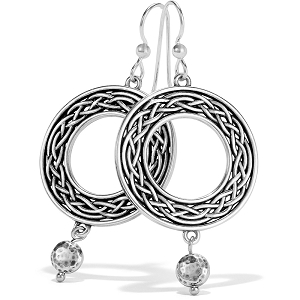 Interlok Weave French Wire Earrings JA6870