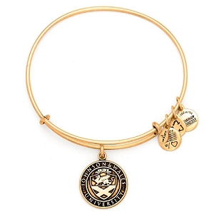 Johnson & Wales University Logo Charm Bangle Rafaelian Gold