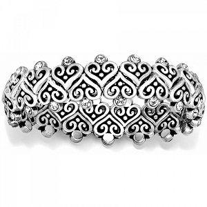 Alcazar Heart Stretch Bracelet JB5012