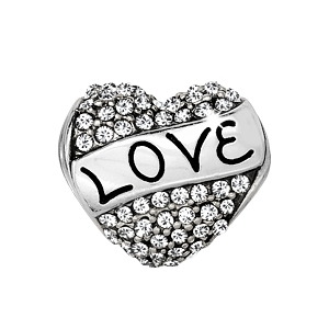 Love Always Bead Silver JC0202
