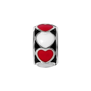 Fashionista Red Heart Spacer JC5423