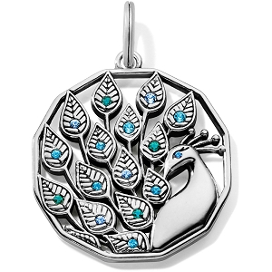 Peacock Amulet JC5903