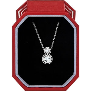 Infinity Sparkle Petite Necklace Gift Box JD1421