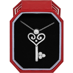 Alcazar Heart Key Necklace Gift Box JD1651