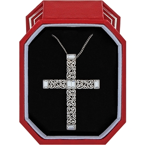 Baroness Cross Necklace Gift Box JD1701