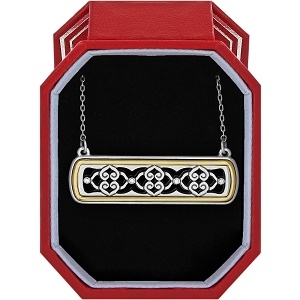 Intrigue Bar Reversible Necklace Gift Box JD1952