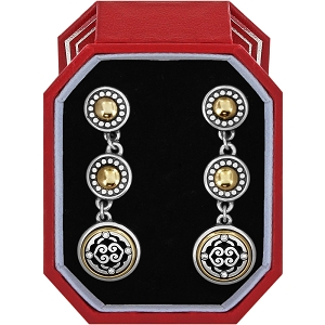 Intrigue Post Drop Earrings Gift Box JD1962