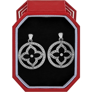 Toledo Alto Noir Post Drop Earrings Gift Box JD2273