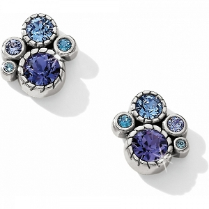 Halo Crystal Post Earrings JL2283