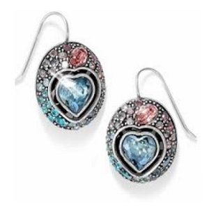 Ecstatic Heart Pastel French Wire Earrings JE9843