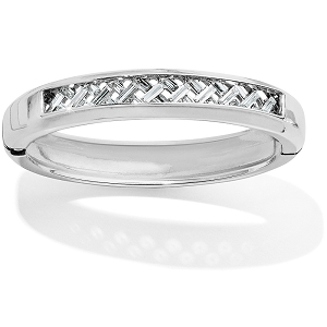 Love Cage Hinged Bangle JF7431