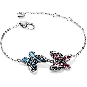 Trust Your Journey Love Butterflies Reversible Bracelet JF7703