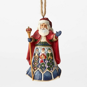 Spanish Santa Ornament 4053837