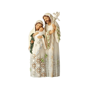 White Woodland Holy Family 6001413