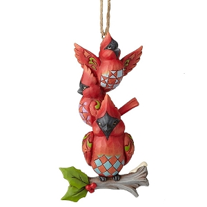 Stacked Cardinals Ornament 6001517