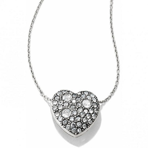 Anatolia Heart Reversible Silver Necklace JL5011