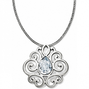 Geneva Heart Statement Necklace JL5151