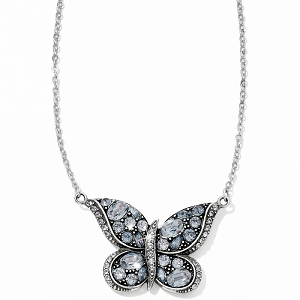 Trust Your Journey Reversible Butterfly Necklace JL5613