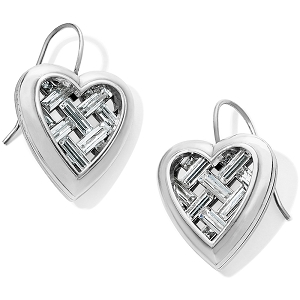 Love Cage Heart French Wire Earrings JA6431