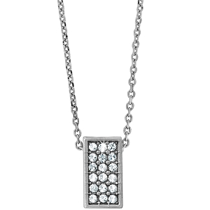 Meridian Zenith Silver Necklace JL8331
