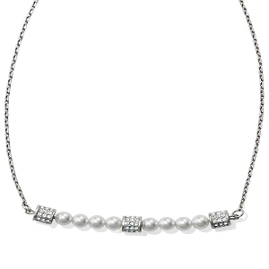 Meridian Petite Pearl Bar Necklace JL8391