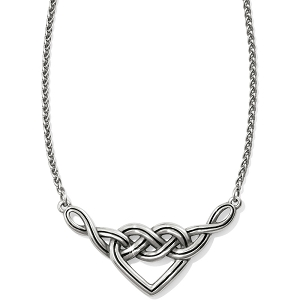 Interlok V Heart Necklace JL8480
