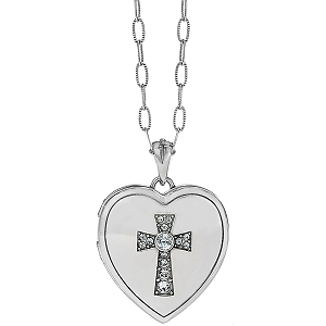 Call To Love Heart Locket Necklace JL9171