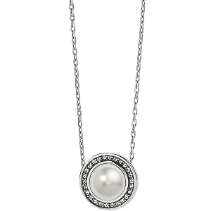 Chara Ellipse Pearl Short Necklace JL9203