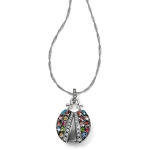 Trust Your Journey Lady Bug Reversible Necklace JM0533