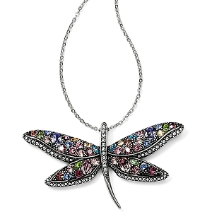 Trust Your Journey Dragonfly Reversible Necklace JM0543