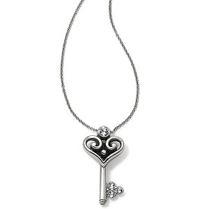 Alcazar Heart Key Necklace JM0591