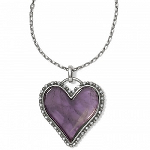 Twinkle Amor Necklace Purple JM087C