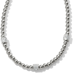 Meridian Petite Beads Station Necklace JM188B