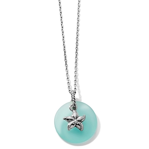 Sea Shore Star Glass Necklace JM2603