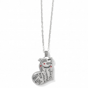 Give Love Peace Necklace JM3923