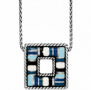 Cabana Short Necklace Blue JN8365