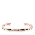 Keep Moving Forward Rose Gold