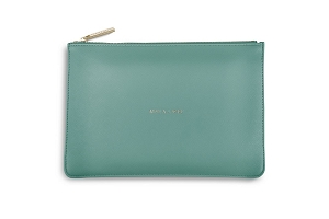 Perfect Pouch Mine All Mine Teal KLB038